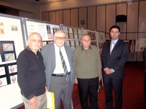 At the Stamp Show of the American Armenian Philatelic Association in Glendale, California